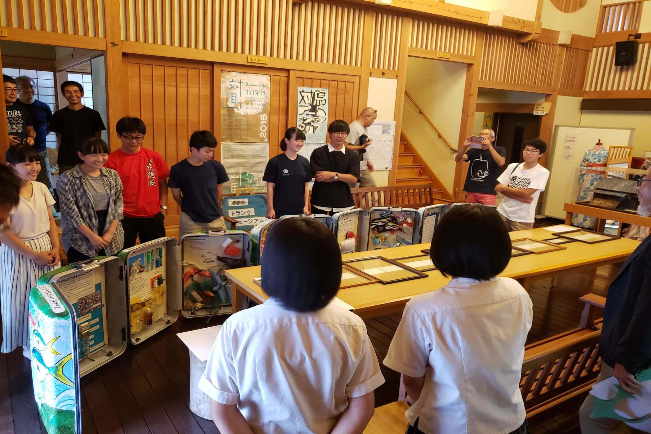 福島県立磐城高等学校化学部が海ごみ問題についての講義を受講、ワークショップに参加