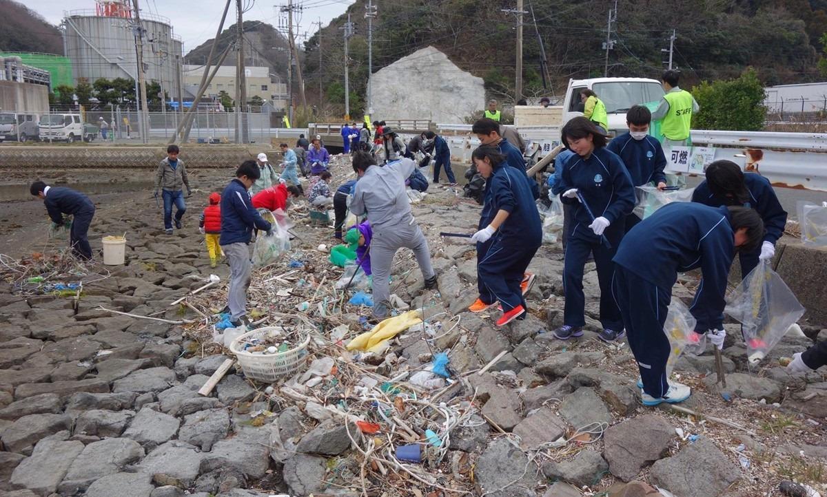 コロナウイルス感染拡大に伴うボランティア海岸清掃について